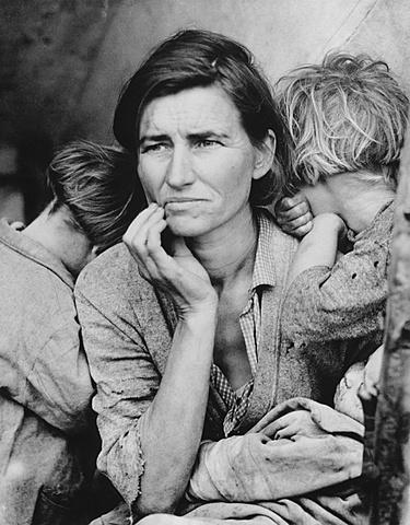 Madre Migrante, Dorothea Lange