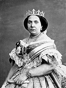 Exili d'Espartero. Isabel II es proclamada major d'edat