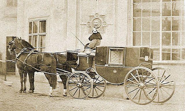 El primer carruaje