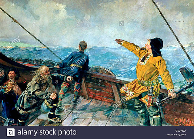 Leif Ericson discovers North America.
