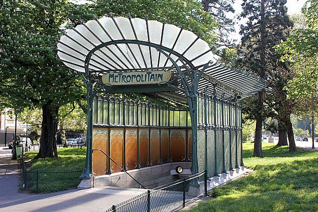 Metro de Paris Hector Guimard