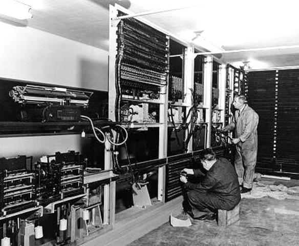 Howard Aiken & Grace Hopper - Harvard Mark I Computer