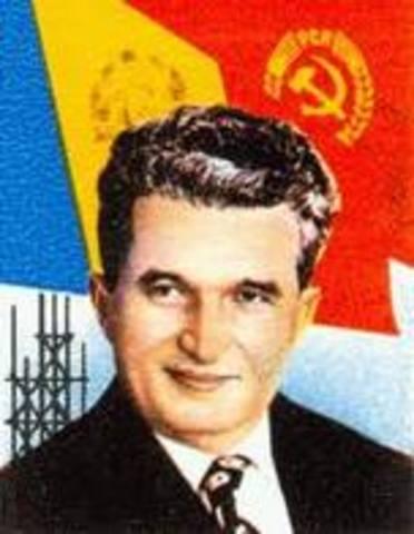 Collapse of Romania
