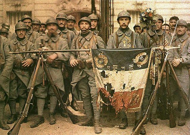 1917- La primera guerra mundial