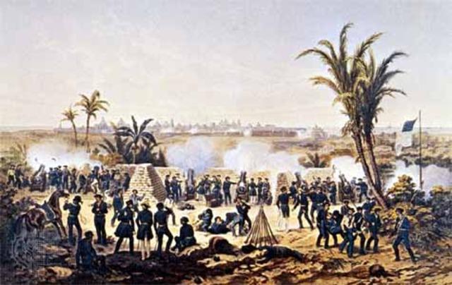 America Declares War on Mexico