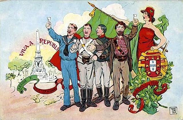 Implantação da 1ª República em Portugal