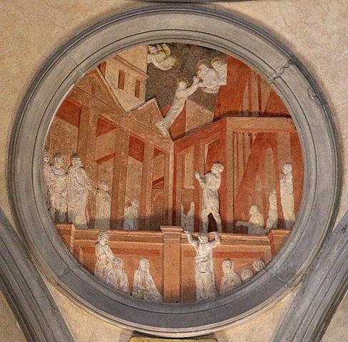 La Sacristía vieja en San Lorenzo - Florencia - Donatello