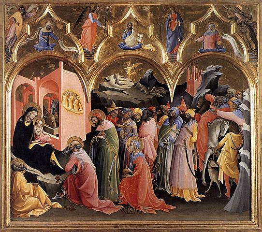 Adoración de los Magos -  Lorenzo Mónaco