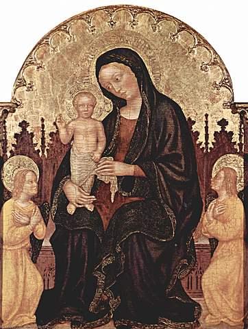 Virgen con el Niño - Gentile da Fabriano