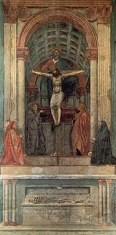 La trinidad - Masaccio