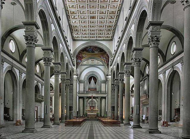 BASÍLICA DE SAN LORENZO DE FLORENCIA - Brunelleschi