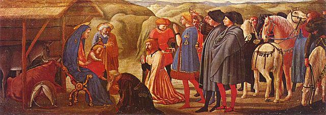 """""""Adoración de los Magos"""" - Masaccio"""