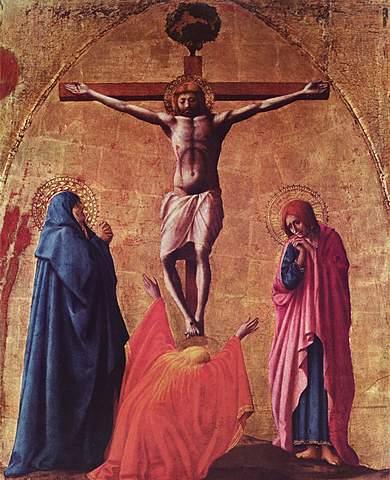 """""""Crucifixión"""" - Masaccio"""