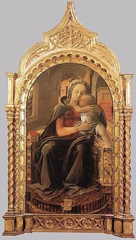 Madonna Tarquina - Filippo Lippi