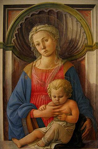 Virgen y el Niño - Filippo Lippi