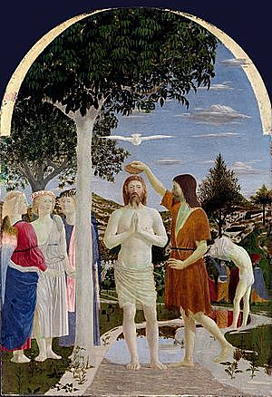 Bautismo de Cristo - Francesca