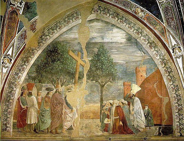 CICLO DE FRESCOS EN LA Basílica de San Francisco de Arezzo - Francesca
