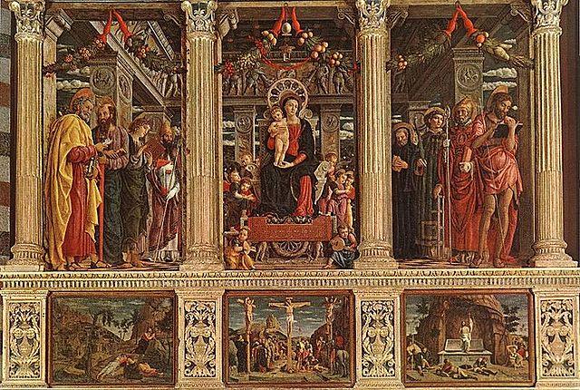 Retablo de San Zenón - Mantegna