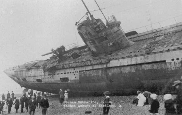 sunken pasagnger ship