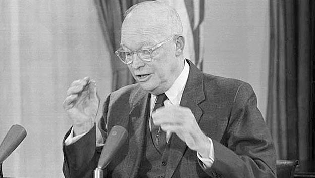 "Eisenhower's ""Domino"" Metaphor"