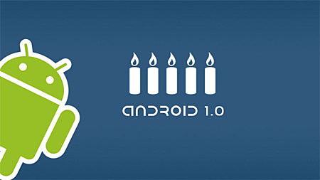 Android 1.0, Apple Pie