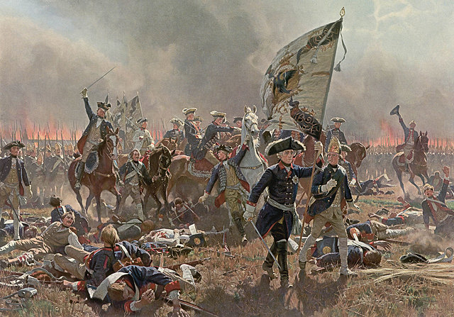 Britain defeats France in the Seven Years' War