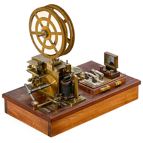 Samuel Morse develops the Telegraph System