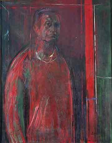 Autorretratos, exposicion en la biblioteca Luis Angel Arango