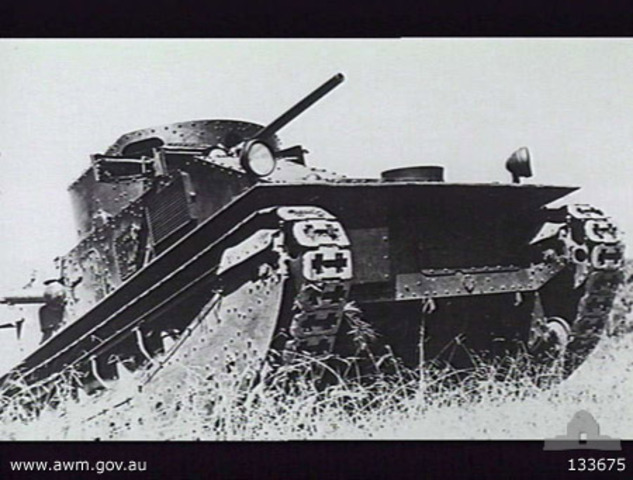 1st tanks were introduced