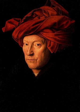 Hombre del turbante rojo - JVE