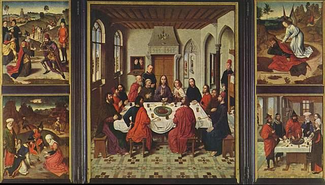 Triptico de la Eucaristia - Dieric Bouts