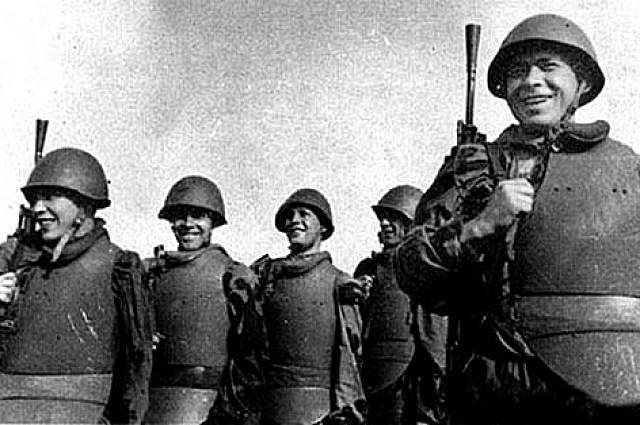 С 1942 года каски СШ-40 делали только в Лысьве.