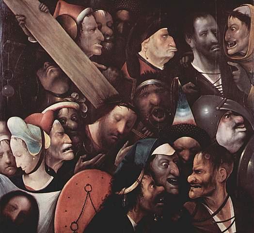 Cristo cargando la cruz - El Bosco