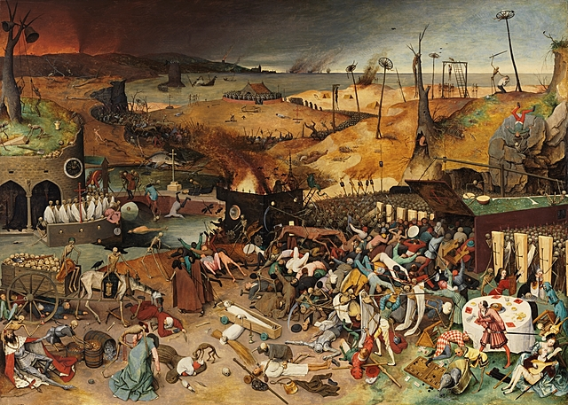 El triunfo de la muerte - Brueghel el viejo