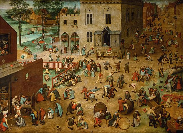 Juegos Infantiles - Brueghel