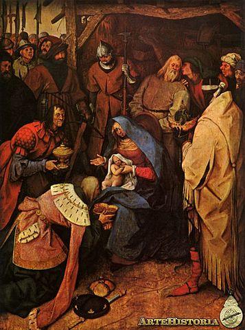 Adoración de los Magos - Brueghel