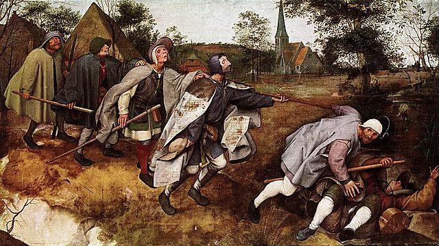 Parábola de los ciegos - Brueghel