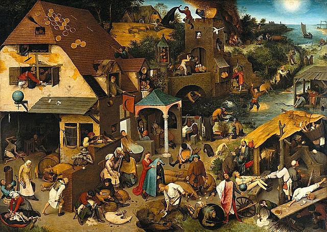 Proverbios neerlandeses - Brueghel
