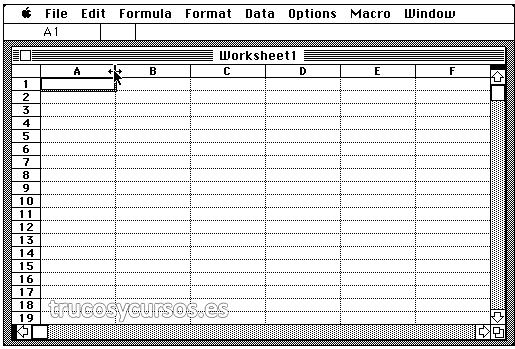 Excel versión: 1.0