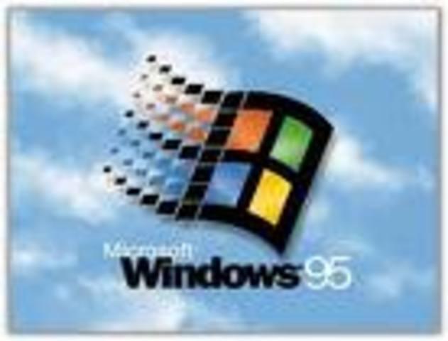 aparicion de windows 95