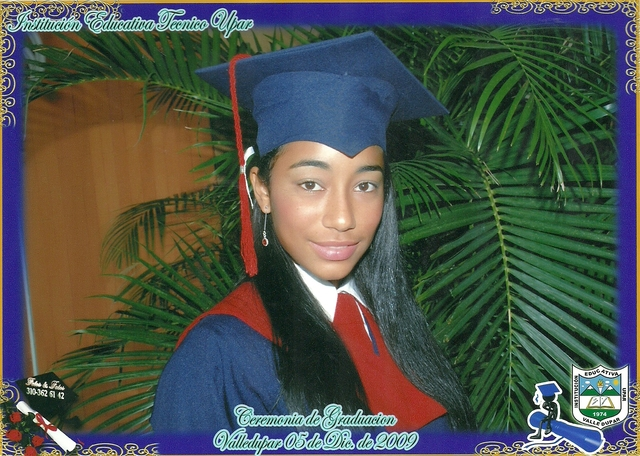 my high school graduation :)