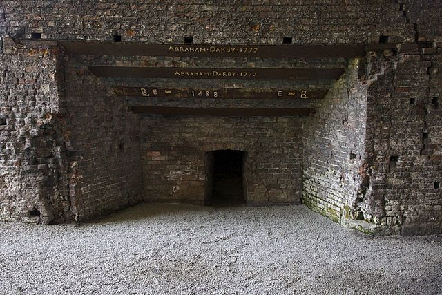 Abraham Darby invents a powerful blast furnace