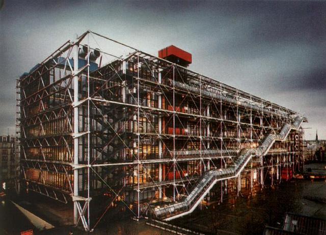 Renzo Piano et Richard Rogers - Le Centre Pompidou