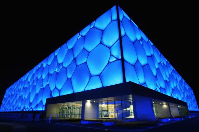 Cabinets d'architecture PTW et ARUPT - Le Cube d'eau
