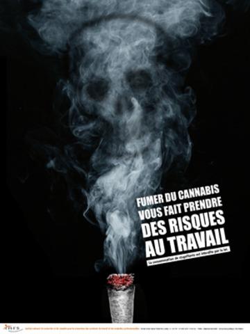 INPES - Affiche prévention addiction cannabis