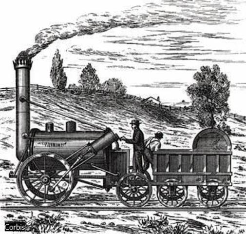 Primer ferrocarril al món.