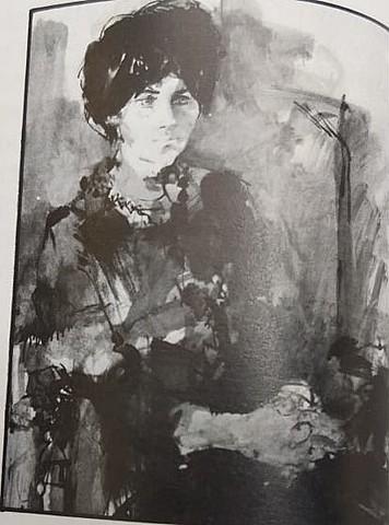 Retrato Marta Traba Blanco Y Negro
