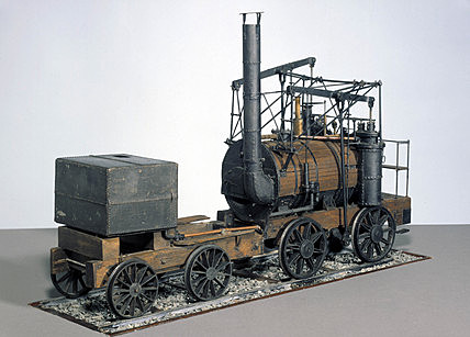 The first Steam Locomotive is built