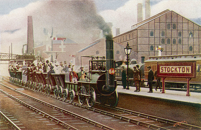The first Public Steam Railway is opened