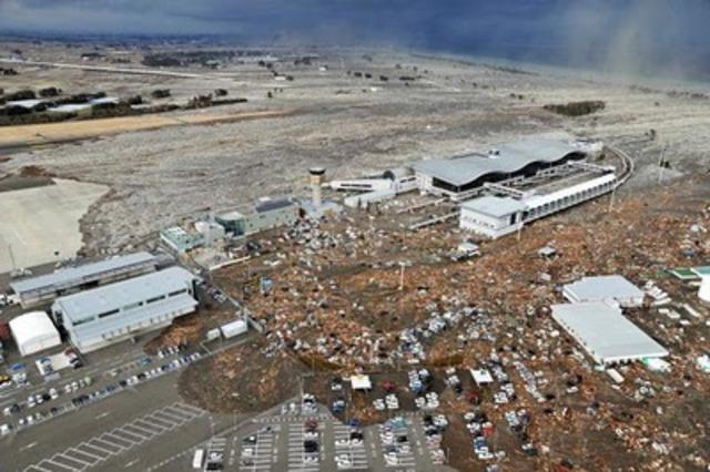 A powerful earthquake and its aftershocks hit Niigata